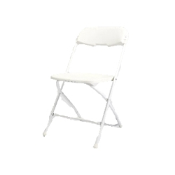 SAMSONITE CHAIR - WHITE