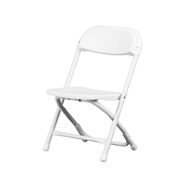 CHILDREN'S SAMSONITE CHAIR - WHITE