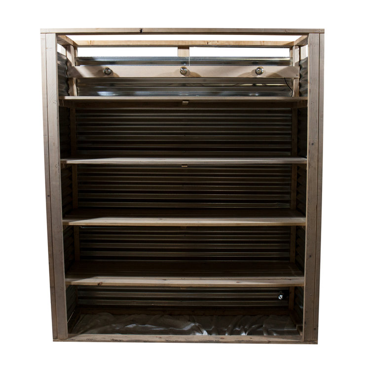CORRUGATED METAL BACK BAR