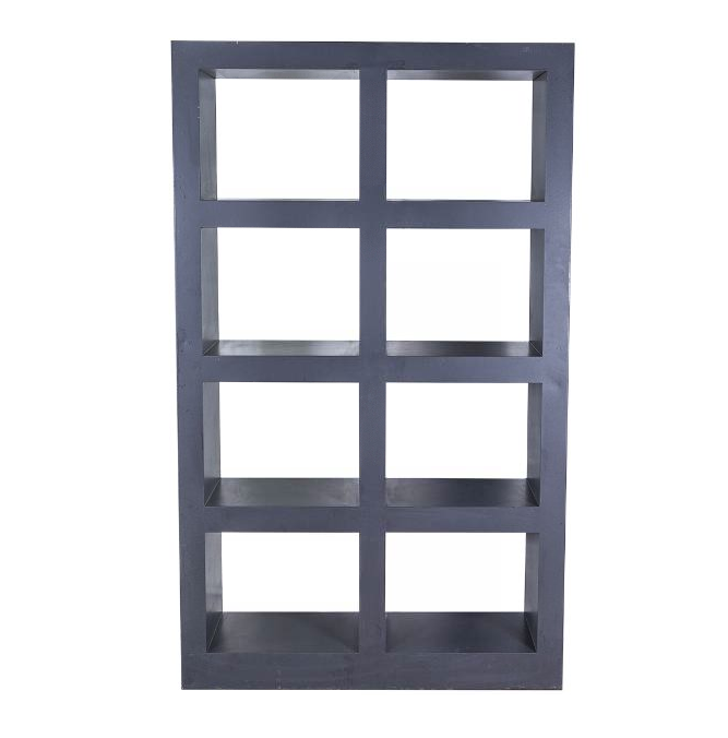 METAL BACK BAR - CHARCOAL