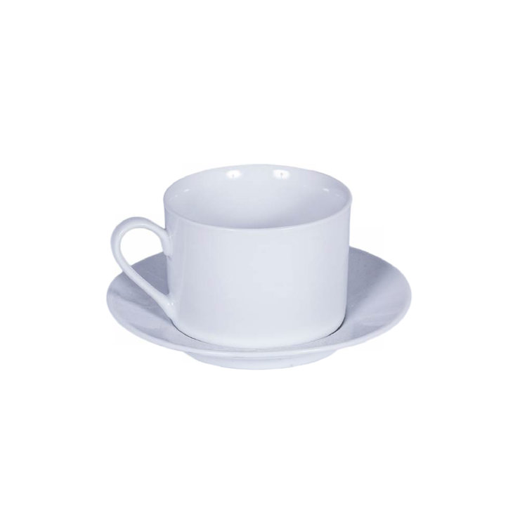 CAN COFFEE CUP W/ SAUCER