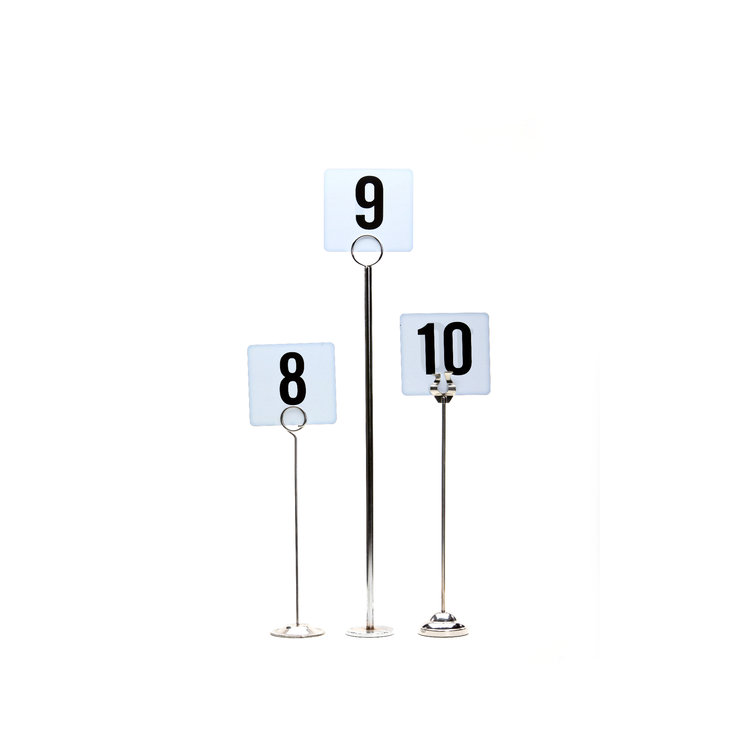 STERLING SILVER TABLE NUMBER STAND