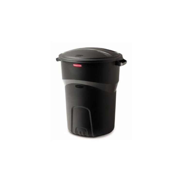 PLASTIC TRASH CAN 32 GAL