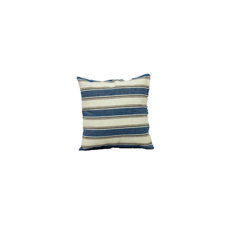 "COASTAL STRIPE 16"" SQ"