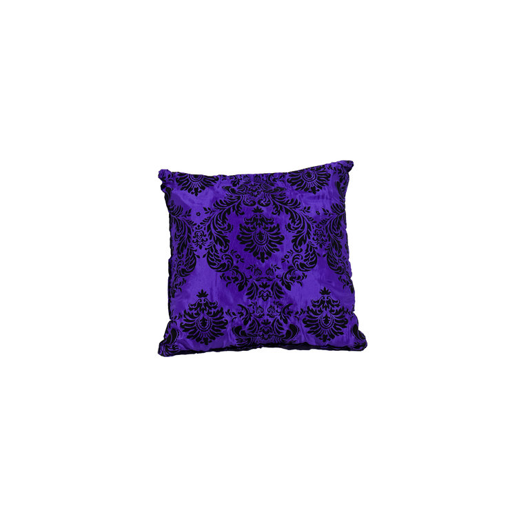 "PURPLE & BLACK VALOUR 18"" SQ"