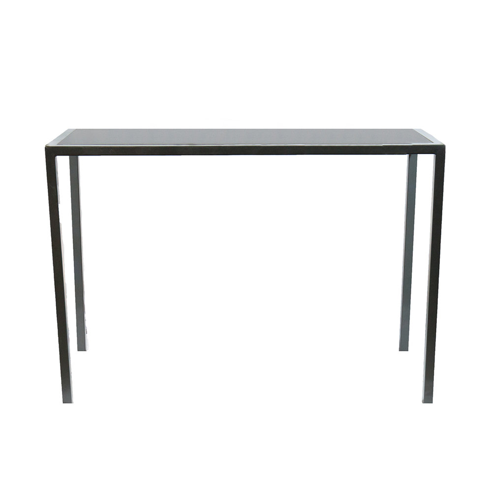ADLER COMMUNAL TABLE - BLACK TOP