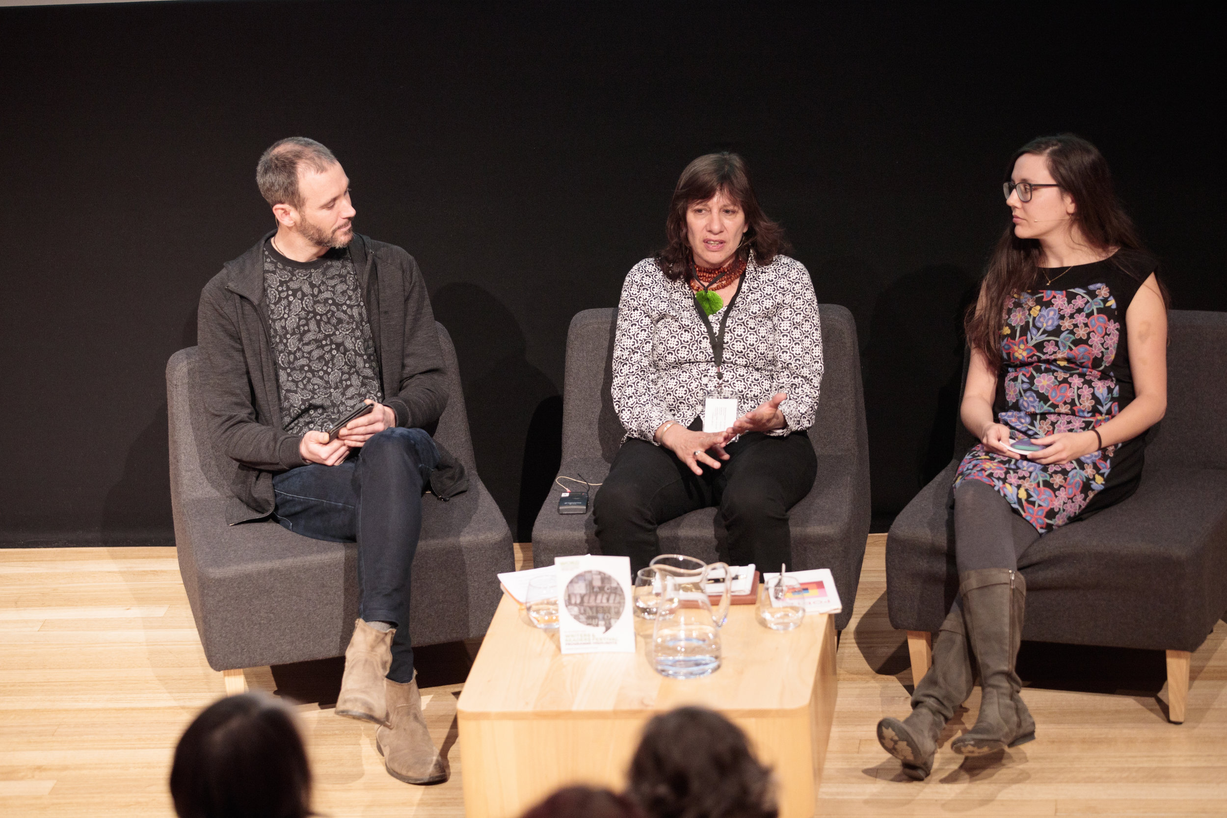 Nic Low,  Ali Cobby Eckermann & Elissa Washuta