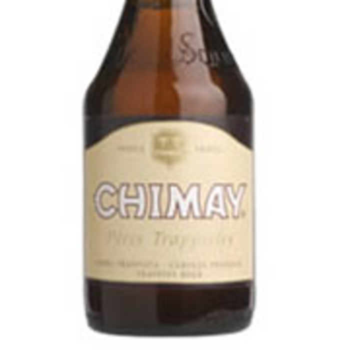 CHIMAY BLANCHE   8.0% abv   The Chimay White Triple succeeds remarkably in blending sweetness and bitterness. Its bouquet of muscat grapes and raisin, the taste highlights a dash of bitterness.
