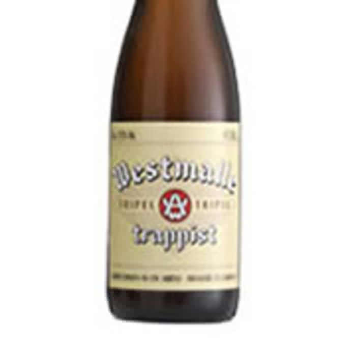 WESTMALLE TRIPEL   9.5% abv   Smooth, dry and hoppy. This is a beer with a hint of hint of fruity flavours. Its aroma is spicy with plenty of vanilla.
