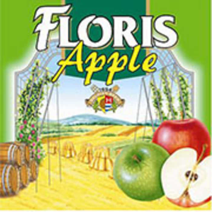 FLORIS APPLE   3.6% abv   Dark red in colour with a lively head. Moderately sweet fresh raspberries, with a light sourness and a dry finish.