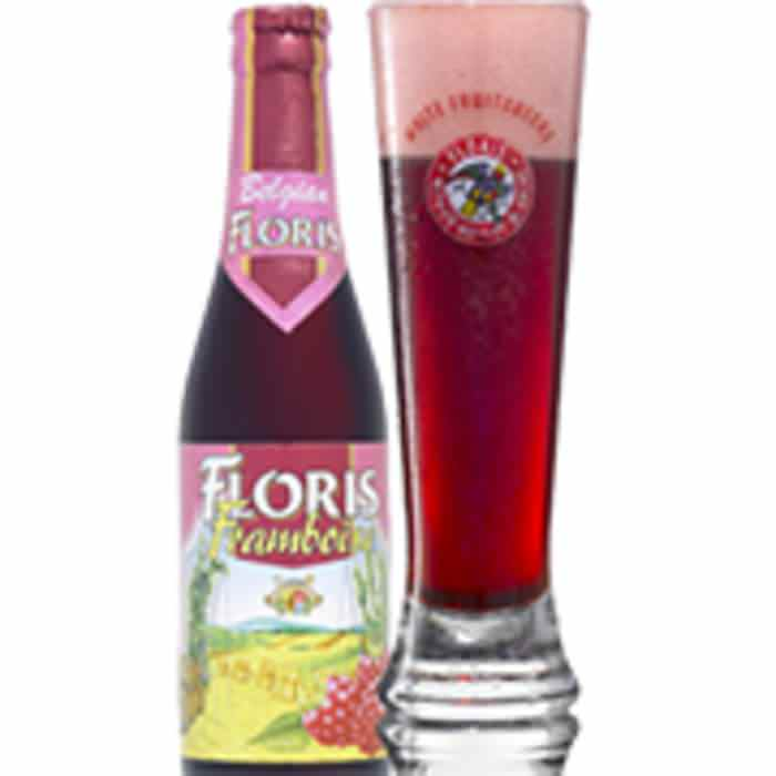 FLORIS FRAMBOISE   3.5% abv   Fresh pressed apple aroma with intricate spices. The taste is reminiscent of caramel apple pie, with a light mout feel and good caronation. Perfect on a summers day. 3.5% abv