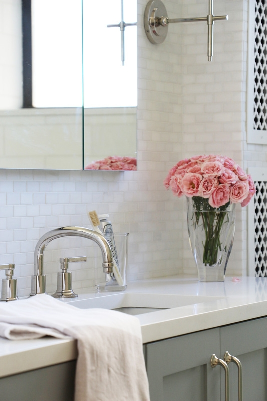 AN ELEGANT CHANGE FOR 2 BATHROOMS - Carmit wanted to update her master and kids bathrooms to be functional and elegant..