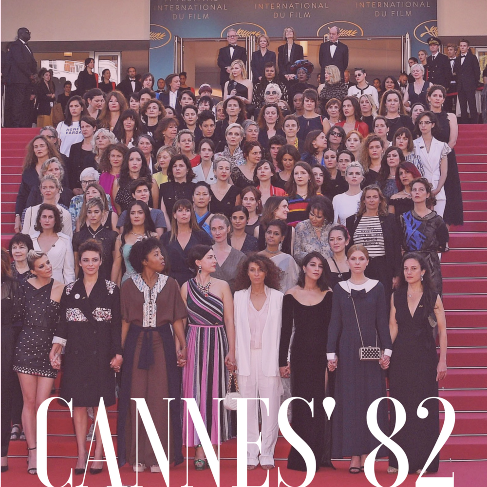 82 Women Came To Protest On The Cannes Red Carpet On Saturday.