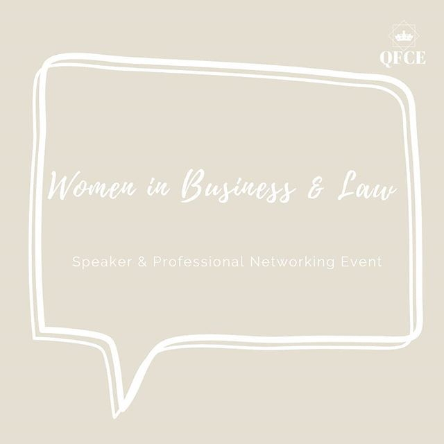 Ready for our first speaker drop??? 🤩 Meet our accomplished speakers that will be featured tomorrow in our Women in Business & Law: Speaker & Professional  Networking Event 👩⚖ You can read more about our speakers at: https://www.qfce.org/2019-speakers/