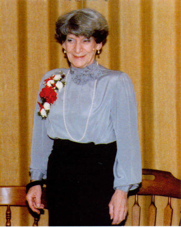 Barbara Torrence retires as Executive Director after more than 20 years, 1986