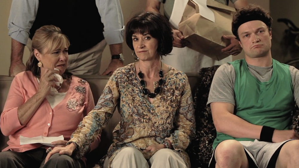 When hosting an intervention, try and NOT make mom cry. #lettertime
