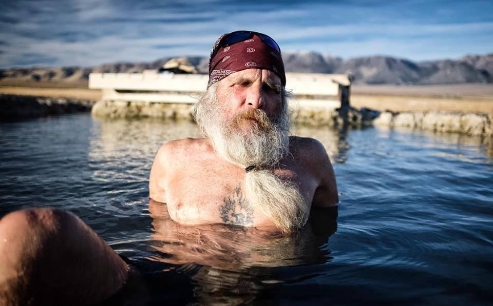 Meeting people is easy... at the hot springs. #documentary