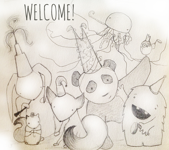 welcome sketch