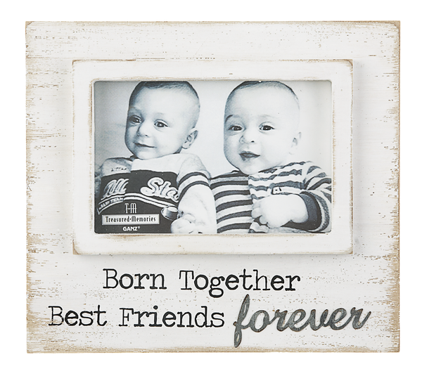 Treasured Memories Baby Frame- Born Together — Little Angel Boutiques
