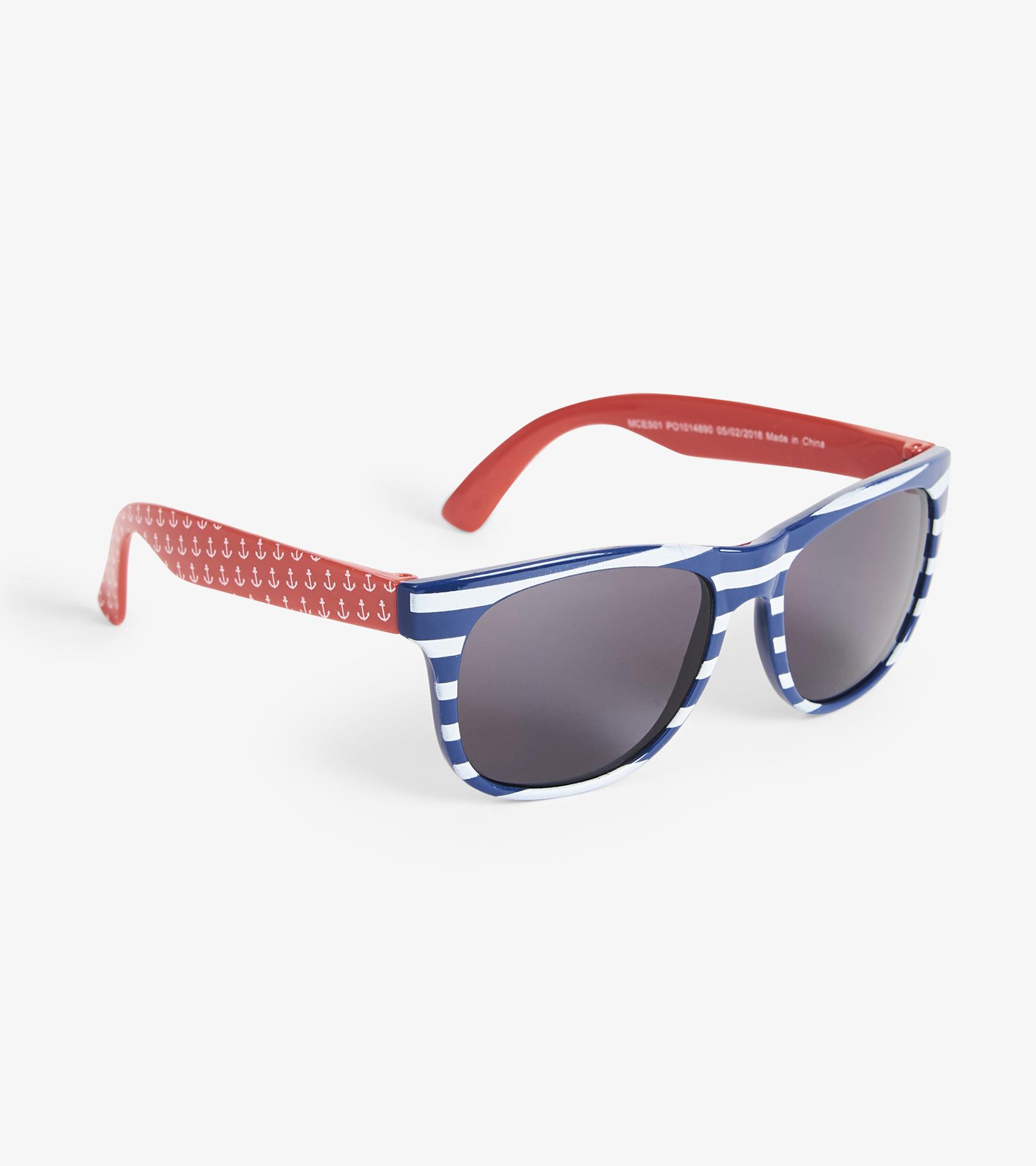 5759a45004 Nautical Stripes Sunglasses