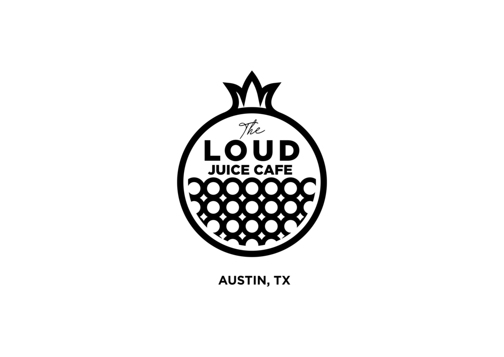 the loud juice cafe re final BW austin white background.png
