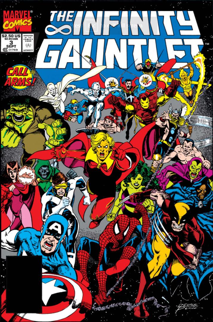 The Infinity Gauntlet #3