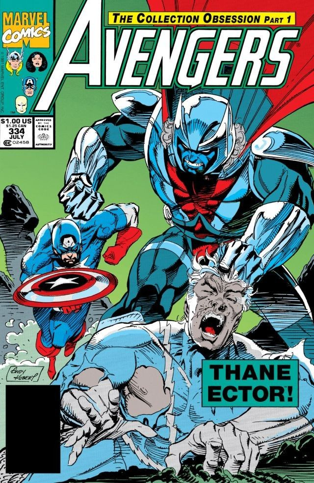 Avengers: The collection Obsession - Avengers #334-339
