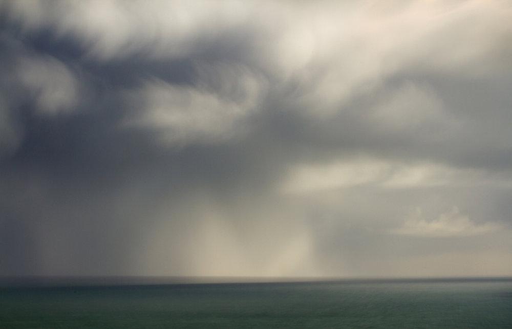 Storm meets sea