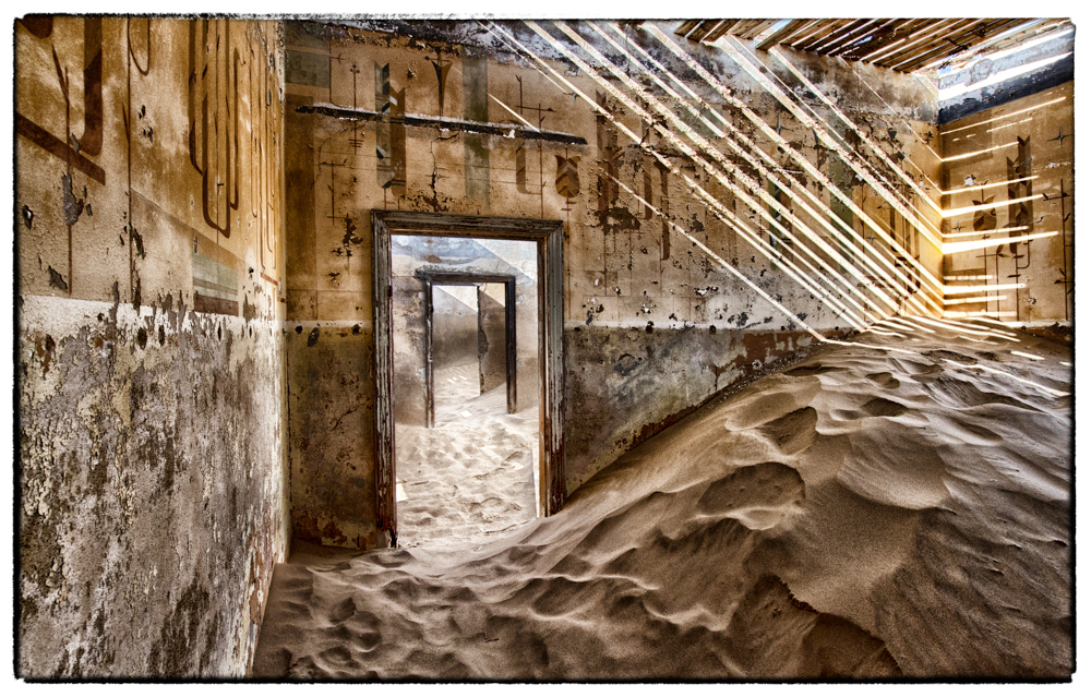 Postcards from Kolmanskop