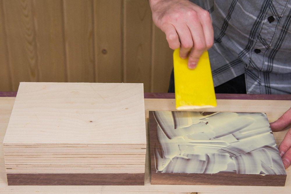 Bandsaw Box Glue Up