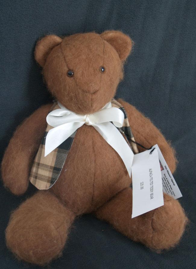 Fawn Felted Teddy Bear