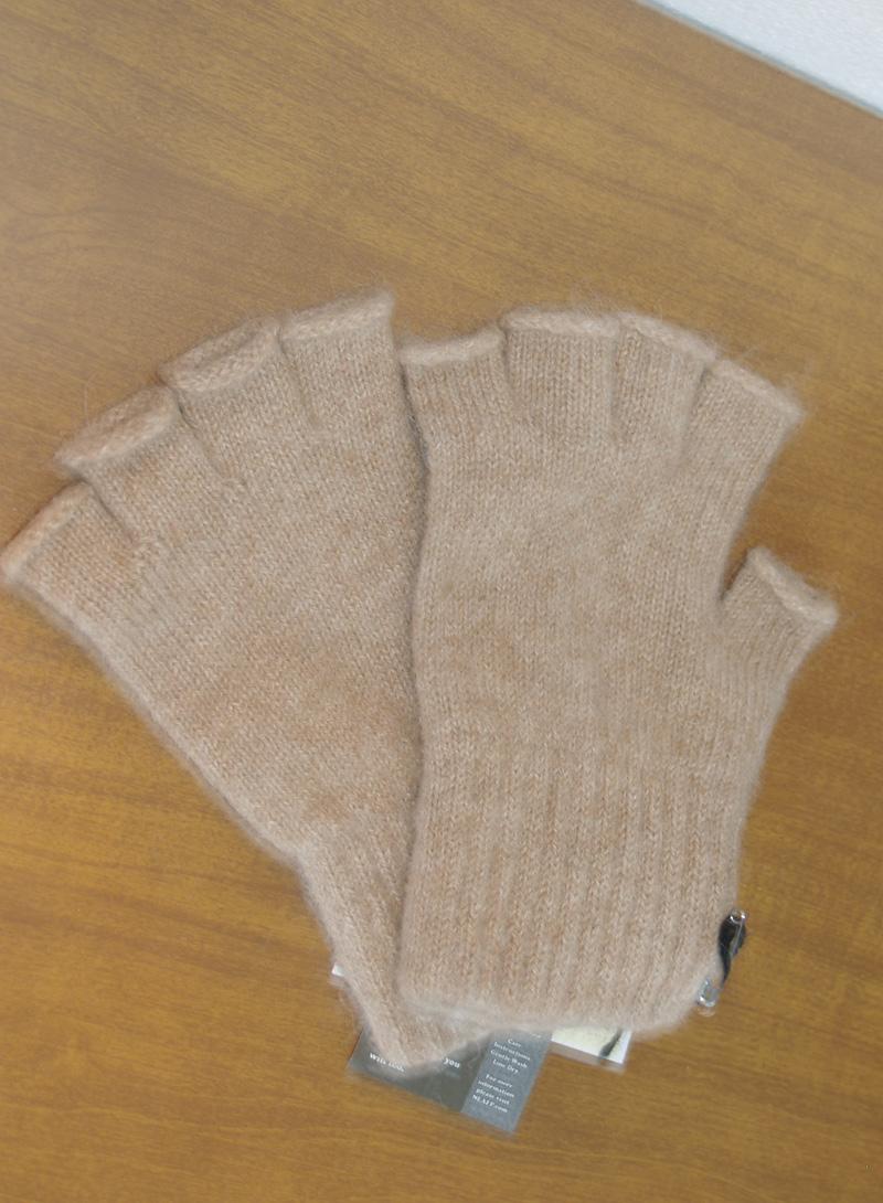 100% Alpaca Fingerless Gloves