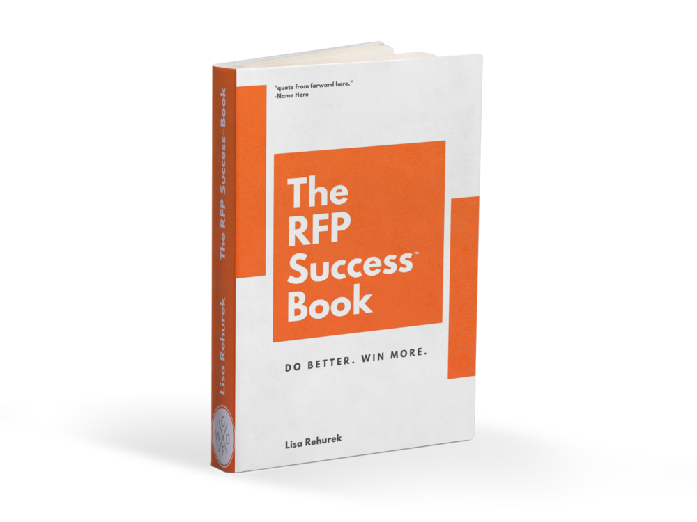 Check Out The RFP Success™ Book
