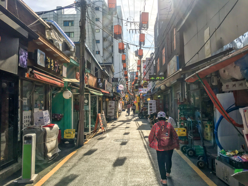 Sejong Village Food Street