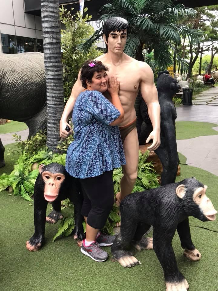 Awww! Sara + Tarzan = <3