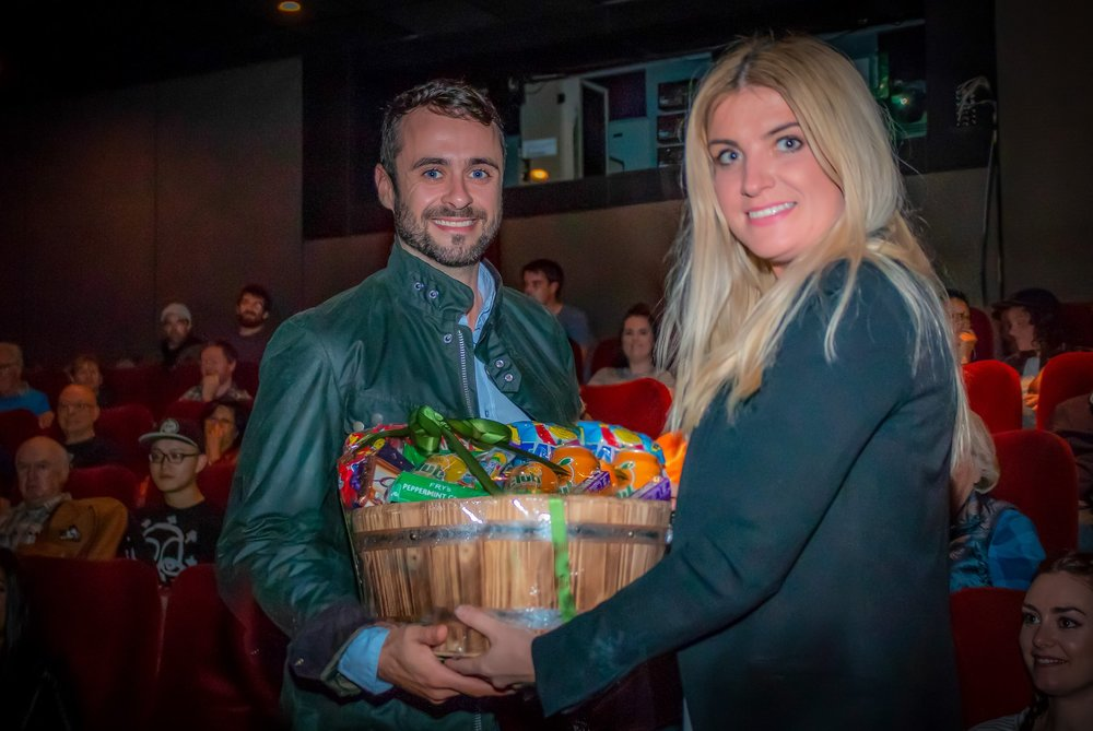Hamper winner, Siobhán Young and BC Bia.jpg