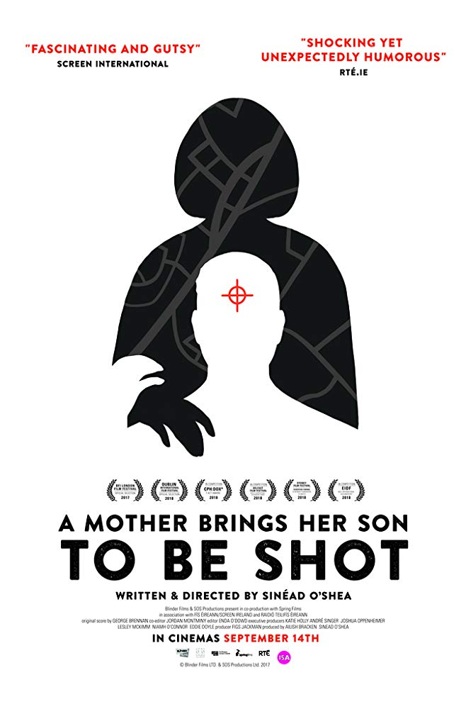A MOTHER BRINGS HER SON TO BE SHOT - Filmed over five years, Sinéad O'Shea's documentary takes a look at a community that is often ignored whenever the subject of peace in Northern Ireland is broached. As the film states, the Good Friday Agreement – an international treaty signed by both the British and Irish governments in 1998 – ended decades-long conflict by catering to different groups; not just the major unionist and nationalist political parties, but paramilitary organisations.However, in the Creggan housing estate in Derry, normal rules do not apply when it comes to law and order. The police are not called upon to dispense justice when tackling local crime - that task falls to so-called 'dissident republicans' who reject the 1998 agreement, despite its mandate from 71% of voters. Operating under the name of the IRA – or 'the RA' in the vernacular of those in Creggan – these groups routinely deliver 'knee-cappings'; gun-shots to the leg, permanently injuring targets.Executive produced by Joshua Oppenheimer – whose stunning film The Act of Killing took a look at the legacy of genocide in Indonesia – A Mother Brings Her Son to Be Shot may not make for cheerful viewing, but it is an important social document, not least at a time of political uncertainty brought on by the UK's exit from the European Union.Starts 7.20pm