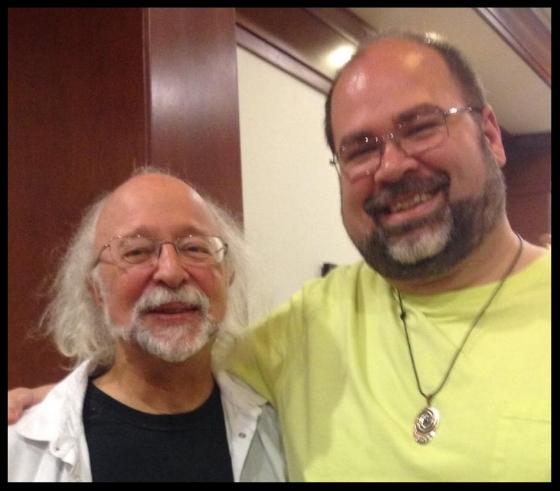 David with Steven Forrest