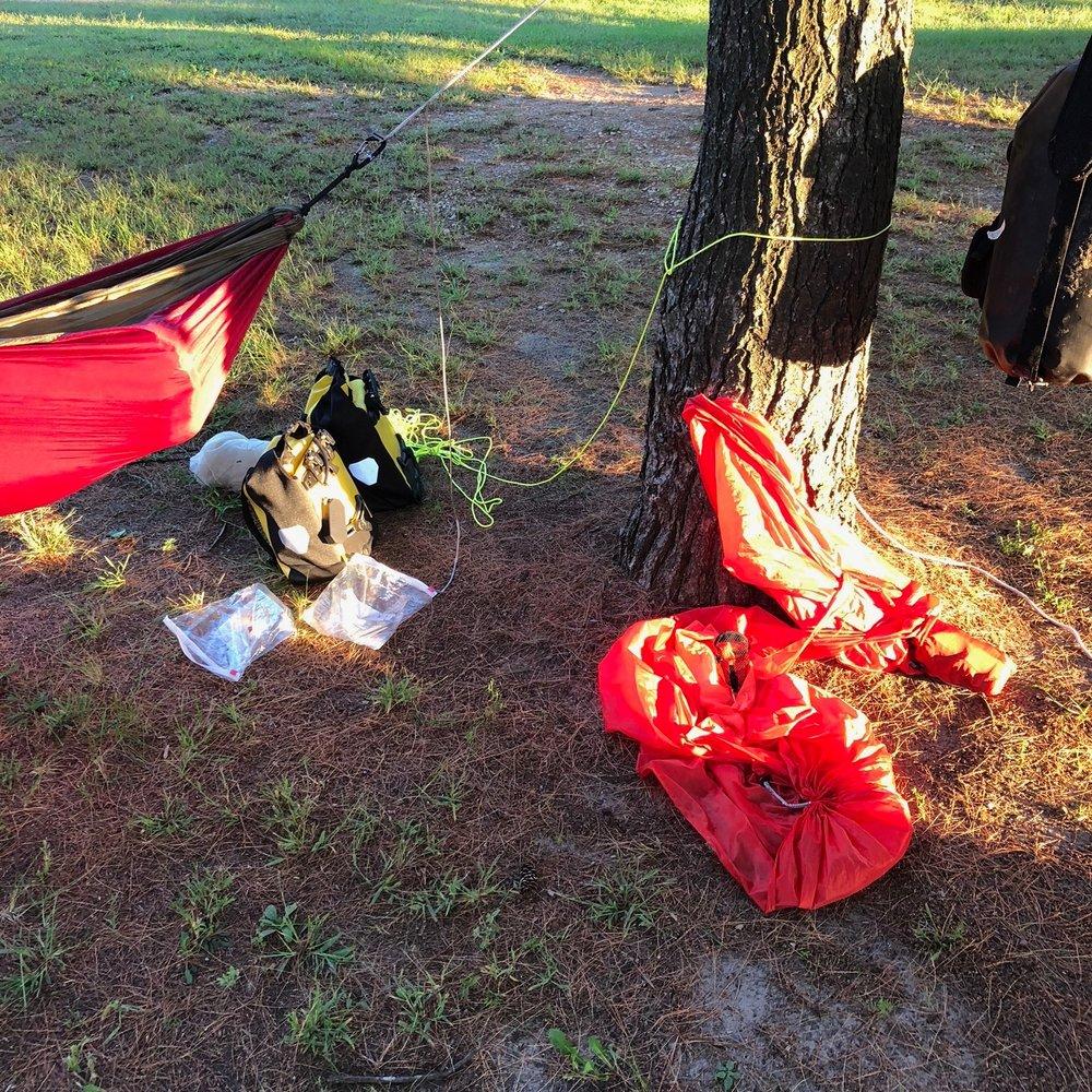 ripped hammock woodman