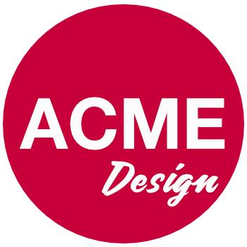 Acme Design — Squarespace web design, MailChimp & more.