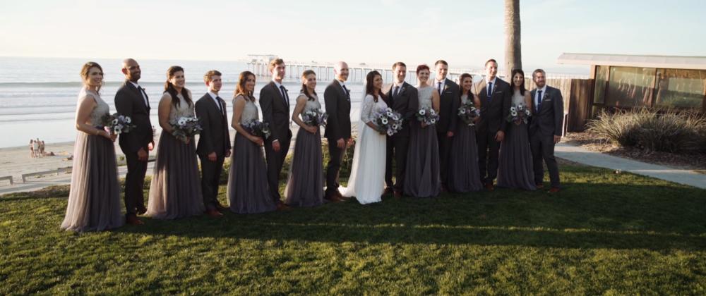 Emily & Andrew's Seaside Wedding
