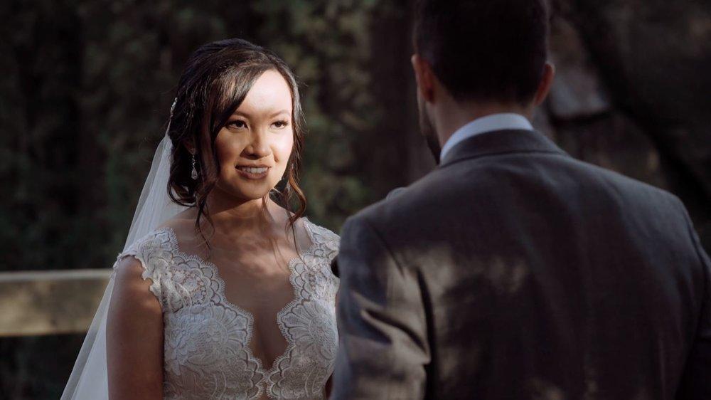 Deanne's Reaction to Garret's Vows.