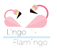 lingo flamigo logo white back.png