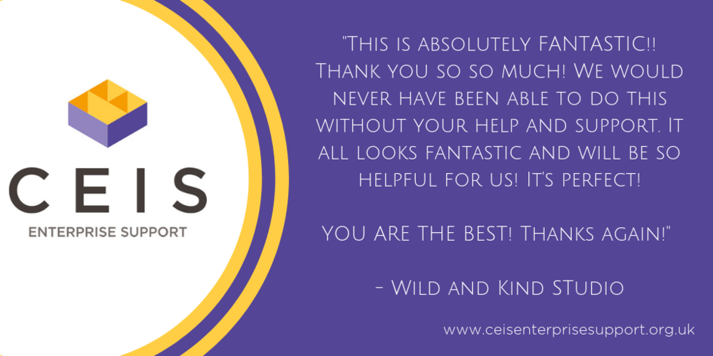 Feedback from Wild and Kind Studio