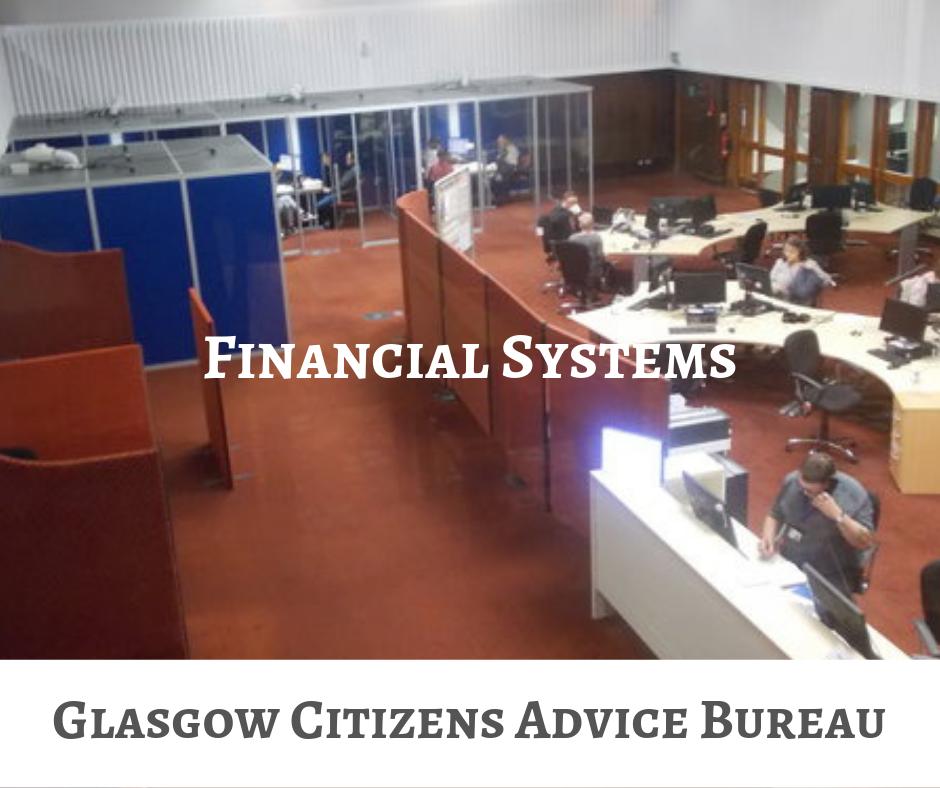 glasgow citizens advice bureau financial systems
