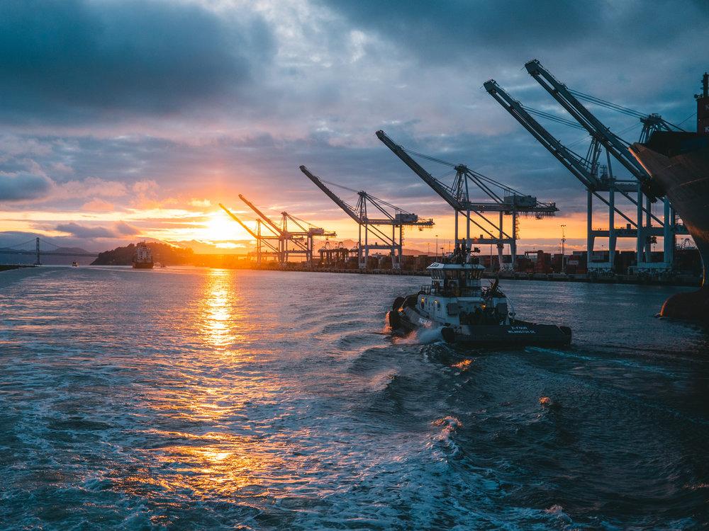 Onko uSA:n teollisuuden vienti matkalla kohti Auringonlaskua?