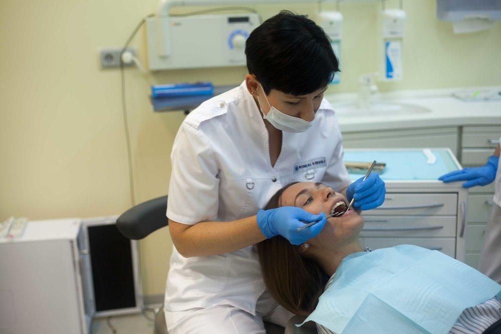 Профилактический осмотр стоматолога