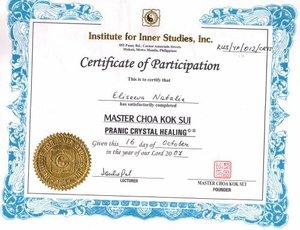 Мастер Чоа Кук Суи 2007
