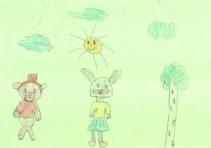 Рисунок нашего маленького пациента 4