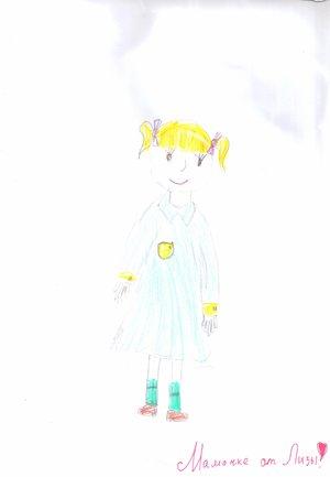 Рисунок нашего пациента 8